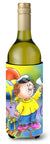 Graduation The Graduate Wine Bottle Beverage Insulator Hugger APH6011LITERK by Caroline's Treasures