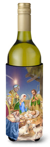 Christmas Nativity with Wise Men Wine Bottle Beverage Insulator Hugger APH6897LITERK by Caroline's Treasures