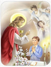 First Communion Boy Mouse Pad, Hot Pad or Trivet APH7584MP by Caroline's Treasures