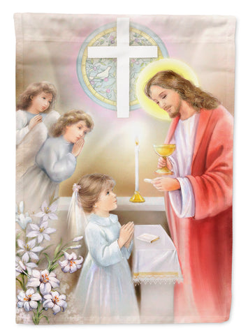 Buy this First Communion Girl Flag Canvas House Size APH7585CHF