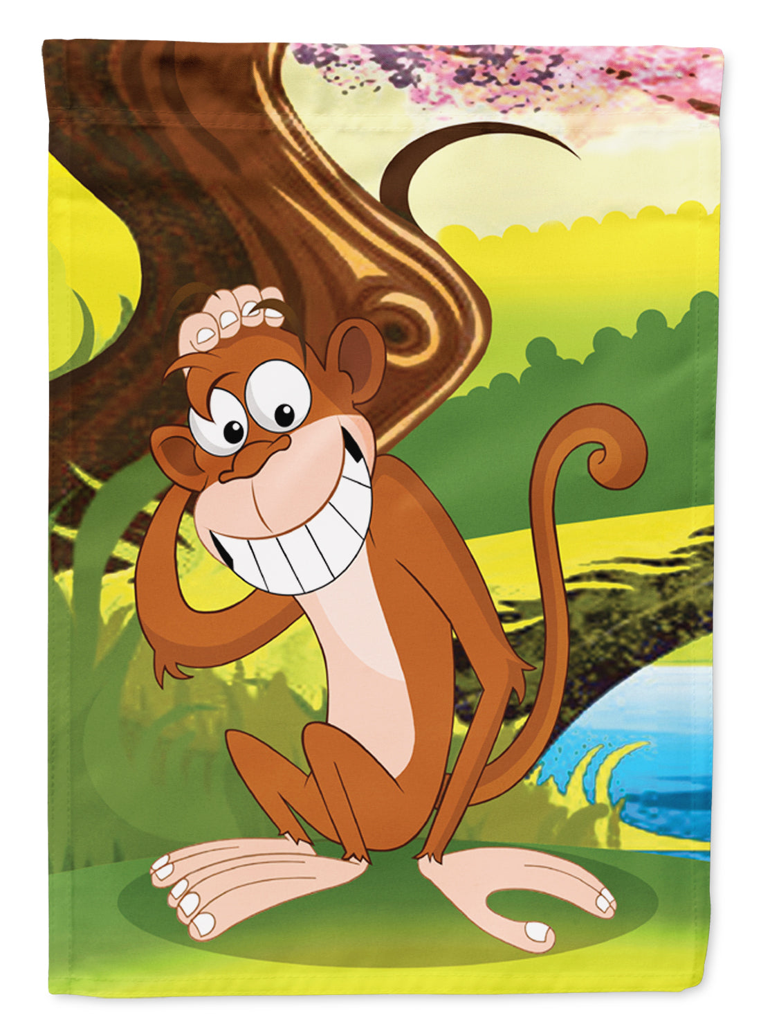 Buy this Monkey under the Tree Flag Garden Size