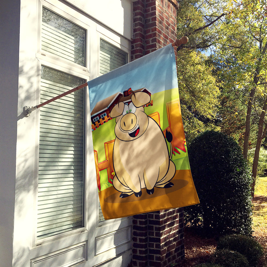 Buy this The Pig Flag Canvas House Size