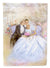 Buy this Wedding Couple Kiss Flag Canvas House Size APH8292CHF