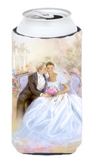 Wedding Couple Kiss Tall Boy Beverage Insulator Hugger APH8292TBC by Caroline's Treasures
