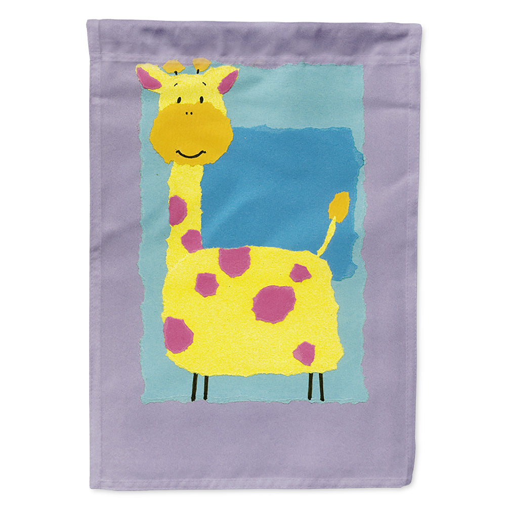 Giraffe Flag Canvas House Size APH8333CHF by Caroline's Treasures