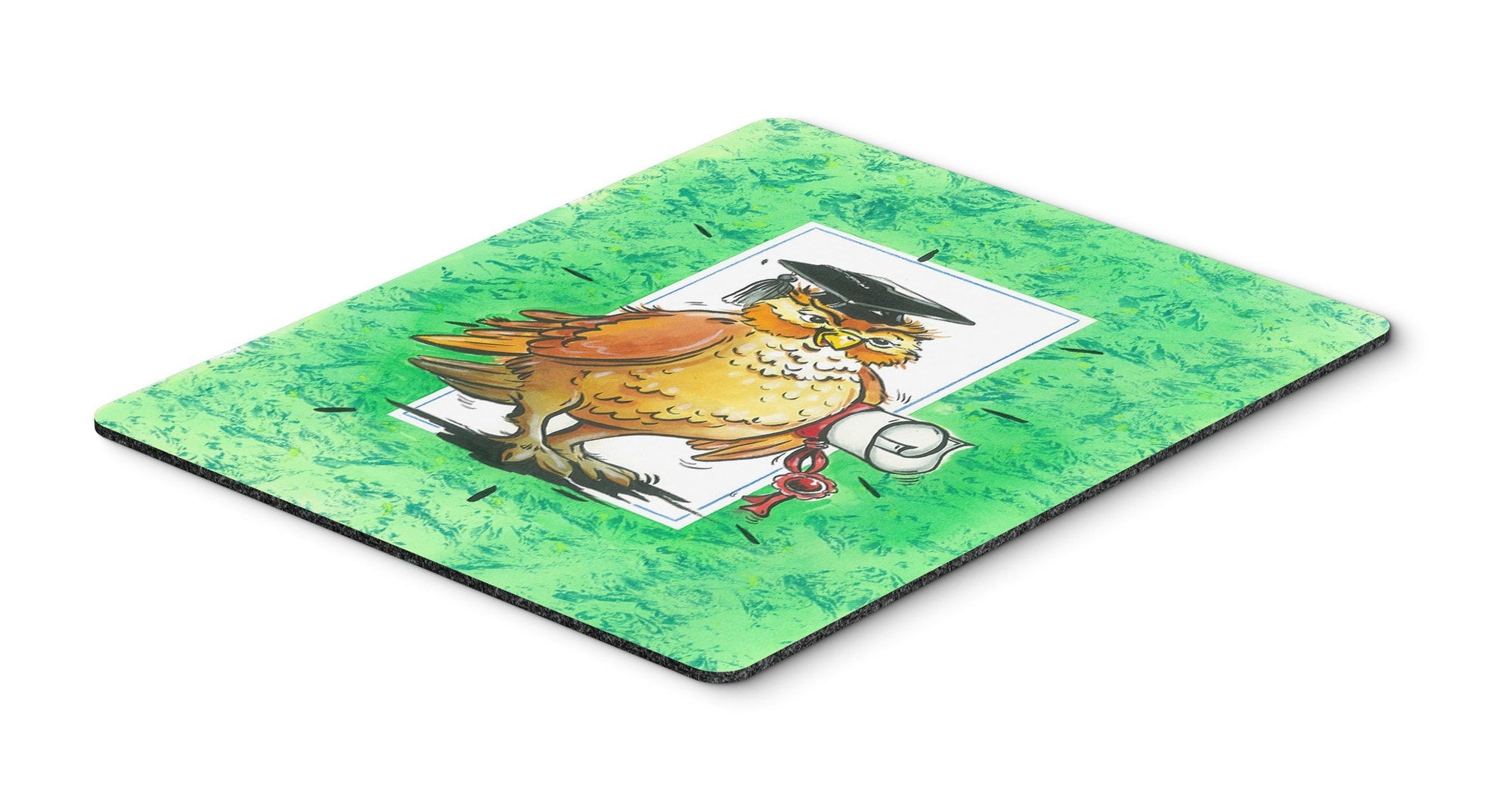 Graduation The Wise Owl Mouse Pad, Hot Pad or Trivet APH8469MP by Caroline's Treasures