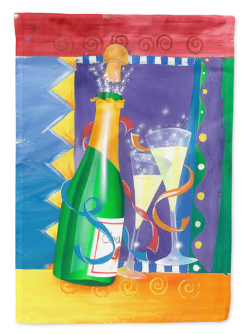 Buy this New Years Celebration Toast Flag Canvas House Size APH8556CHF
