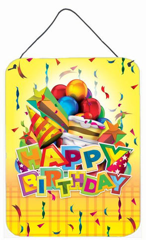Buy this Happy Birthday Party Wall or Door Hanging Prints APH8873DS1216