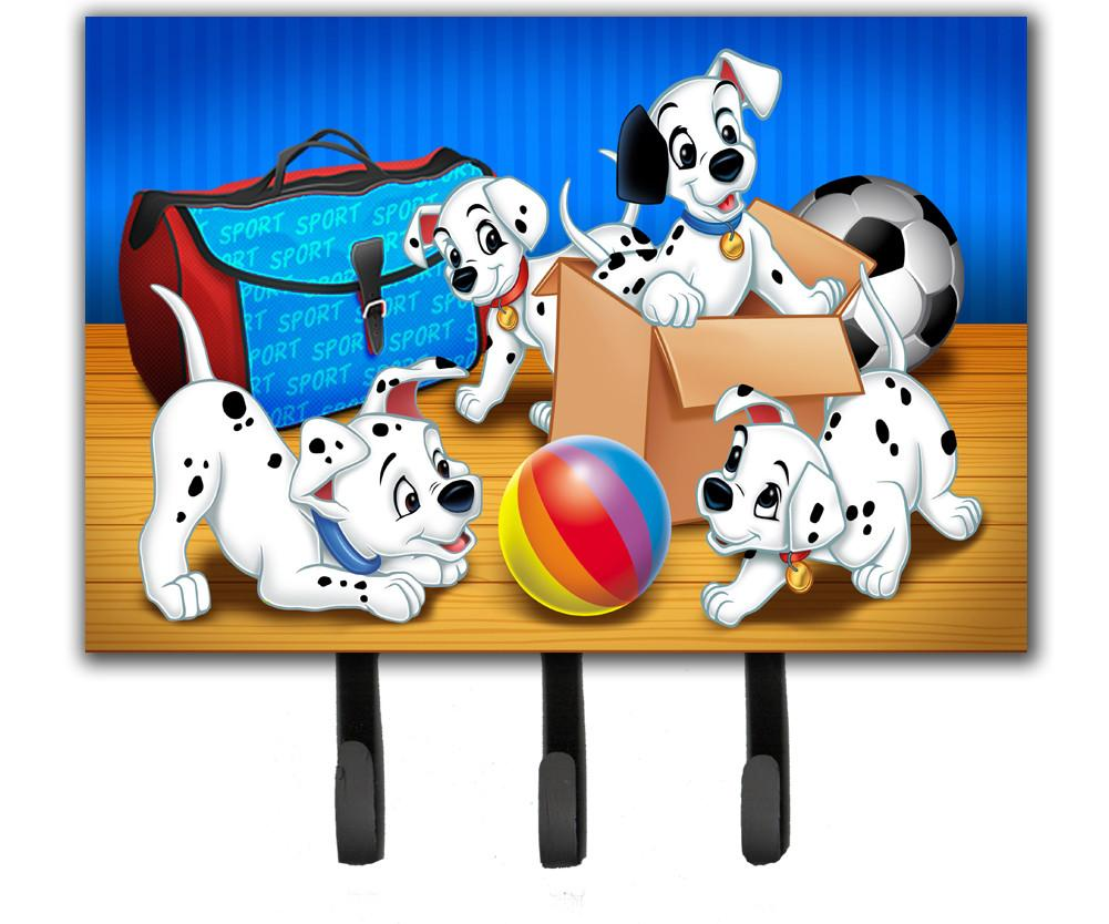 Buy this Dalmatians playing ball Leash or Key Holder APH9058TH68