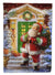 Santa Claus with Christmas Gifts Flag Garden Size APH9486GF by Caroline's Treasures