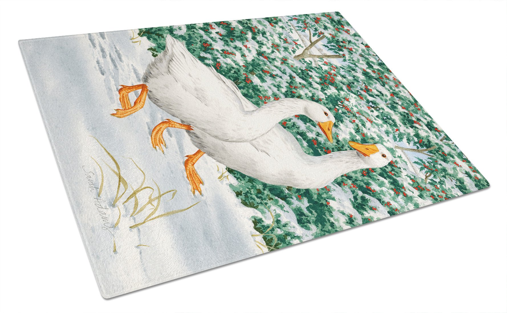 Buy this Geese  Glass Cutting Board Large ASA2012LCB