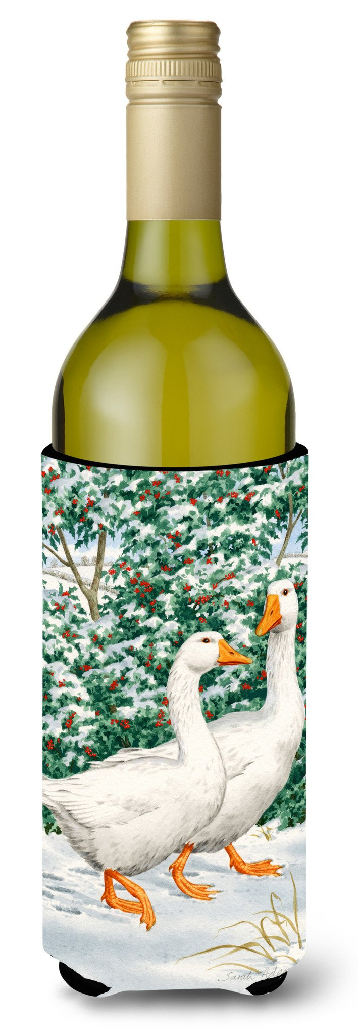 Buy this Geese  Wine Bottle Beverage Insulator Hugger ASA2012LITERK