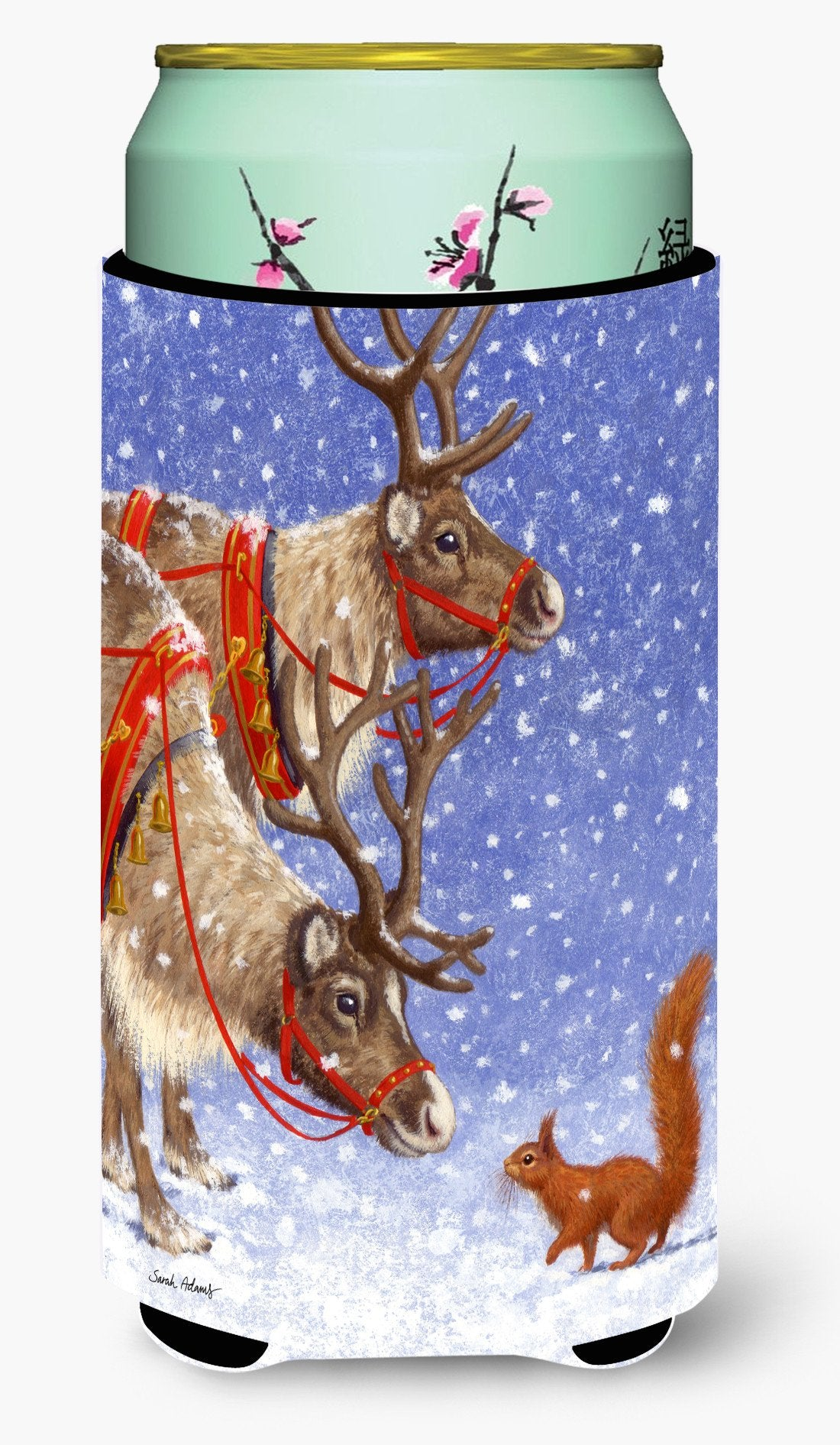 Buy this Reindeers & Squirrel Tall Boy Beverage Insulator Hugger ASA2016TBC