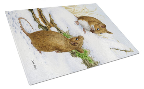 Buy this Wood Mice Wood Mouse Glass Cutting Board Large ASA2027LCB