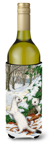 Buy this Stoats Short-tailed Weasel Wine Bottle Beverage Insulator Hugger ASA2042LITERK