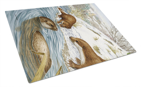 Buy this Otter at Play Glass Cutting Board Large ASA2049LCB