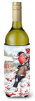 Buy this Eurasian Bullfinch Wine Bottle Beverage Insulator Hugger ASA2054LITERK