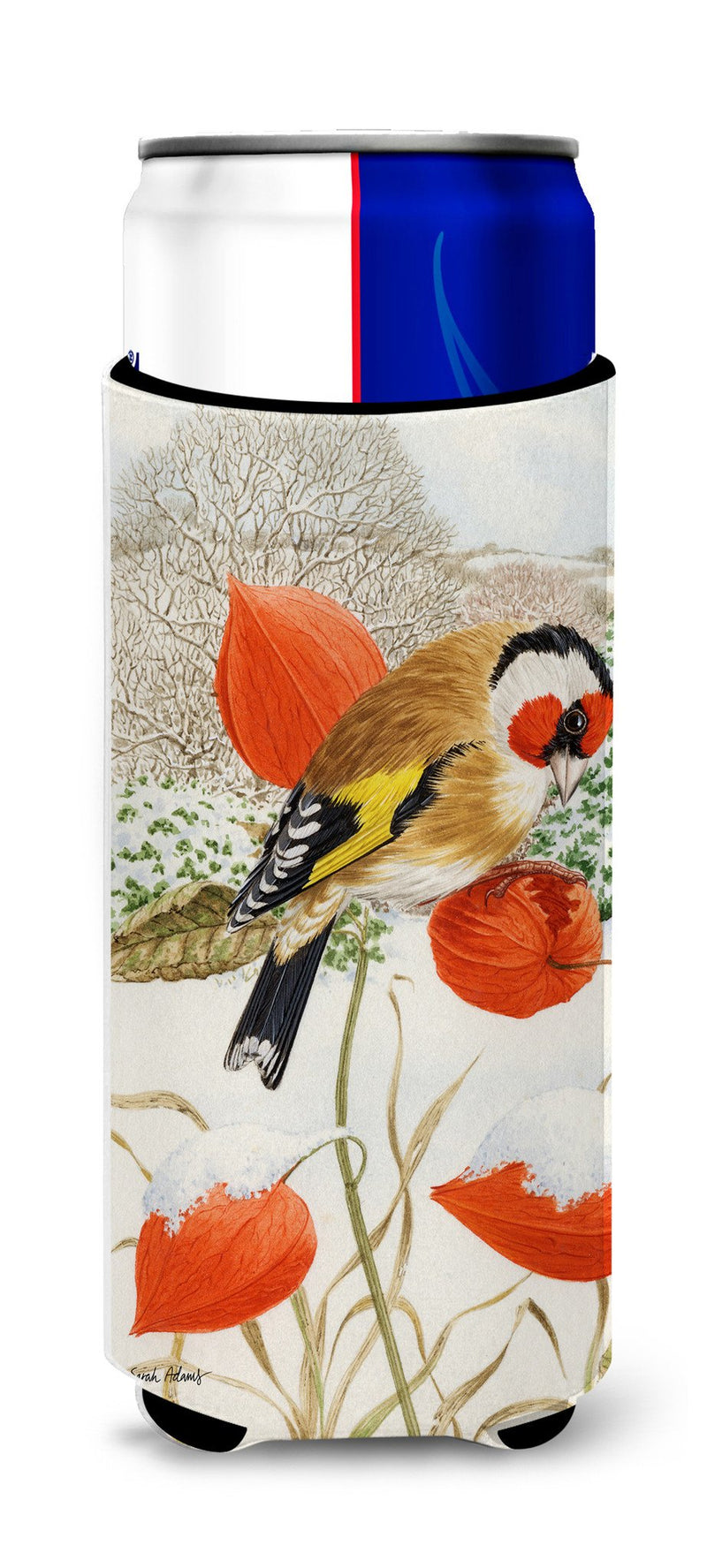 European Goldfinch Ultra Beverage Insulators for slim cans ASA2055MUK by Caroline's Treasures