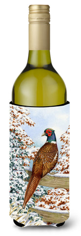 Buy this Pheasant Wine Bottle Beverage Insulator Hugger ASA2062LITERK