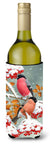 Buy this Eurasian Bullfinches Wine Bottle Beverage Insulator Hugger ASA2063LITERK
