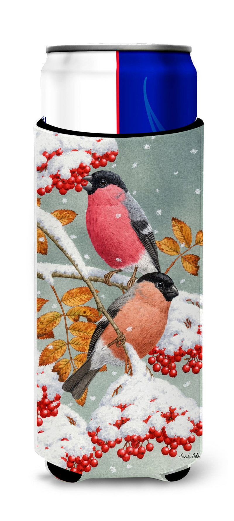 Buy this Eurasian Bullfinches Ultra Beverage Insulators for slim cans ASA2063MUK