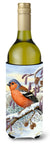 Buy this Eurasian Bullfinch Wine Bottle Beverage Insulator Hugger ASA2066LITERK