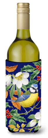 Buy this Eurasian Blue Tit Wine Bottle Beverage Insulator Hugger ASA2068LITERK