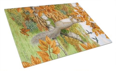 Buy this Grey Squirrel Glass Cutting Board Large ASA2074LCB