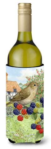 Buy this Garden Warbler Wine Bottle Beverage Insulator Hugger ASA2096LITERK