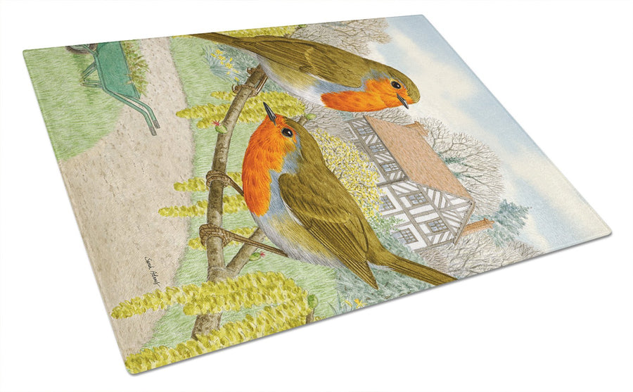Buy this European Robins Glass Cutting Board Large ASA2097LCB