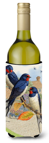 Buy this Barn Swallows Wine Bottle Beverage Insulator Hugger ASA2106LITERK