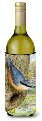 Buy this Red-breasted Nuthatch Wine Bottle Beverage Insulator Hugger ASA2108LITERK