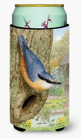 Buy this Red-breasted Nuthatch Tall Boy Beverage Insulator Hugger ASA2108TBC