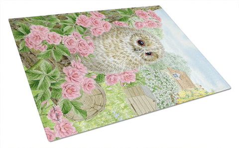 Buy this Tawny Owlet Glass Cutting Board Large ASA2109LCB