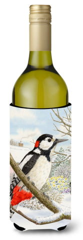 Buy this Spotted Woodpecker Wine Bottle Beverage Insulator Hugger ASA2113LITERK