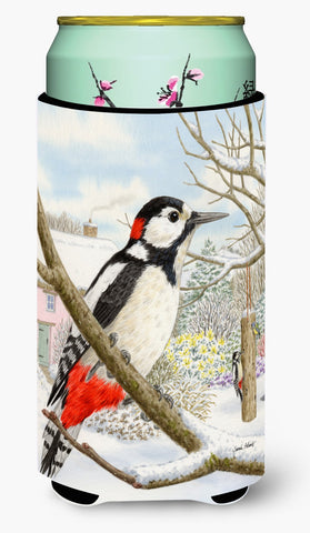 Buy this Spotted Woodpecker Tall Boy Beverage Insulator Hugger ASA2113TBC