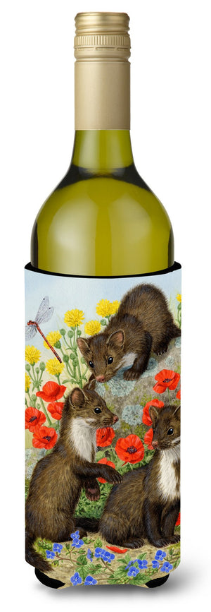 Buy this Stone Martins Beech Marten Wine Bottle Beverage Insulator Hugger ASA2122LITERK