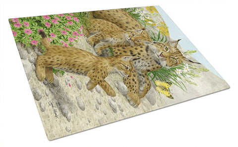 Buy this Lynx & Cubs Glass Cutting Board Large ASA2134LCB