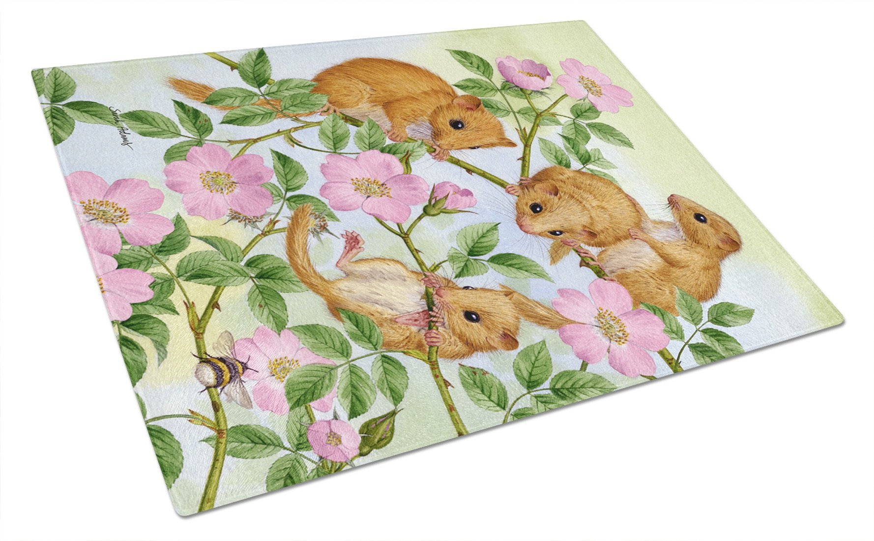 Buy this Dormice Dormouse Glass Cutting Board Large ASA2136LCB