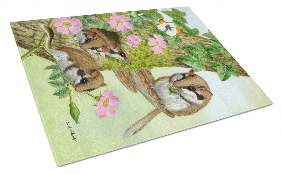 Buy this Dormice Dormouse Glass Cutting Board Large ASA2139LCB