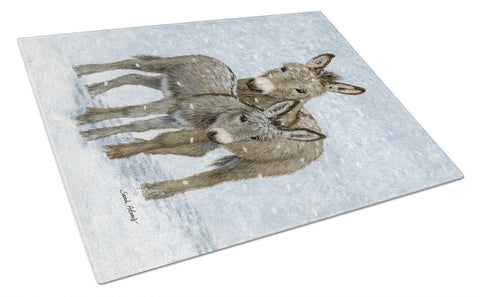 Buy this Donkeys Glass Cutting Board Large ASA2149LCB