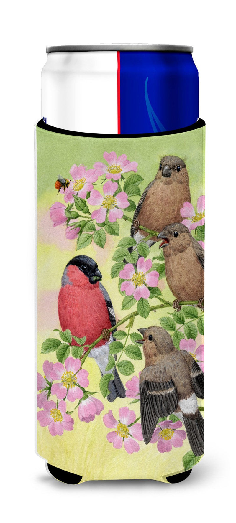 Buy this Eurasian Bullfinches Ultra Beverage Insulators for slim cans ASA2154MUK