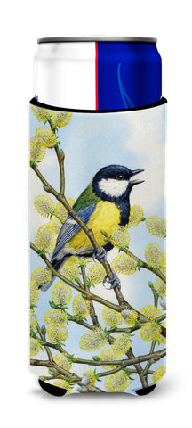 Buy this Eurasian Blue Tit on a branch Ultra Beverage Insulators for slim cans ASA2156MUK