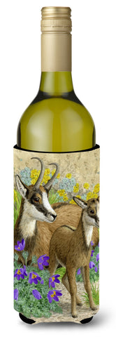 Buy this Chamois Wine Bottle Beverage Insulator Hugger ASA2161LITERK