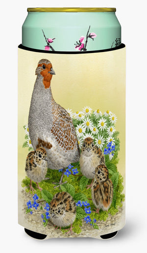 Buy this Partridge and Chicks Tall Boy Beverage Insulator Hugger ASA2162TBC