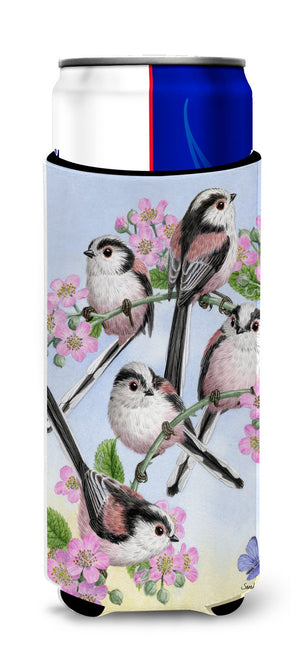 Buy this Party of 5 Long Tailed Tits Ultra Beverage Insulators for slim cans ASA2163MUK