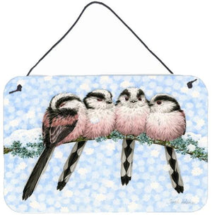 Buy this Roosting Long Tailed Tits Wall or Door Hanging Prints