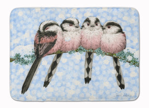 Buy this Roosting Long Tailed Tits Machine Washable Memory Foam Mat ASA2169RUG