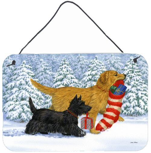 "Buy this ""Golden Retriever Keep Up There, Scottie! Wall or Door Hanging Prints ASA2171DS812"""