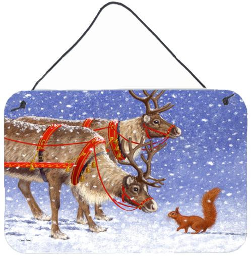 Buy this Reindeer & Squirrel Wall or Door Hanging Prints ASA2173DS812